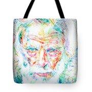 Gerry Mulligan - Portrait Tote Bag