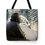 Gertrude Stein Nyc Tote Bag by Joanna Madloch