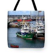 Getaria Fishing Fleet Tote Bag