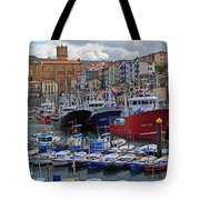 Getaria In Basque Country Spain Tote Bag