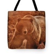 Getting A Bit Too Close Tote Bag by Jeff Folger