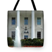 Getting Close To The White House Tote Bag