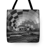 Getting Inflated-bw Tote Bag