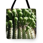 Getting Ready To Bloom Tote Bag