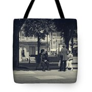 Getting The Latest News Tote Bag