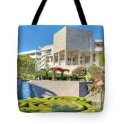 Getty Center Central  Garden Brentwood  Ca Tote Bag