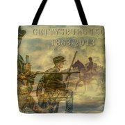 Gettysburg Anniversary 150 Years Tote Bag