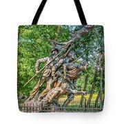 Gettysburg Battleground Memorial Tote Bag