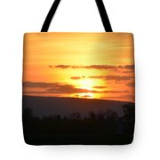 Gettysburg Sunset Tote Bag