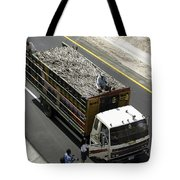 Getting The News Tote Bag