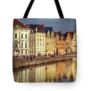 Ghent Waterfront Tote Bag