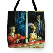 Ghost At The Theatre Tote Bag
