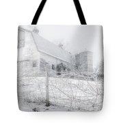 Ghost Barn Tote Bag