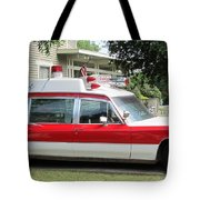 Ghost Buster Style Ambulance Tote Bag