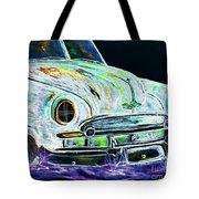 Ghost Car Tote Bag