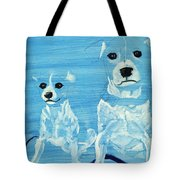 Ghost Dogs Tote Bag