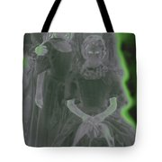 Ghost Family Portrait Tote Bag