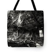 Ghost House Hd Tote Bag