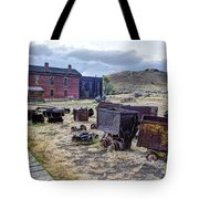 Ghost Mining Town Of Montana Tote Bag