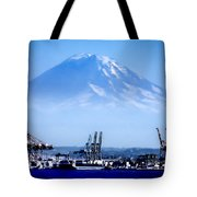 Ghost Mountain Tote Bag