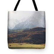 Ghost Mountains Tote Bag