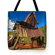 Ghost Of An A-frame Tote Bag