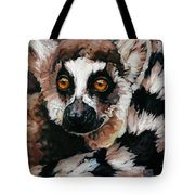 Ghost Of Madagascar Tote Bag