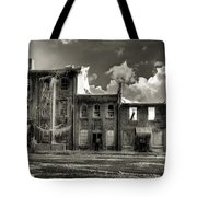 Ghost Of Our Town Tote Bag by Jaki Miller