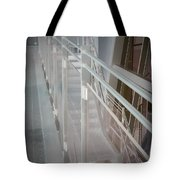 Ghost Rails 2 Tote Bag