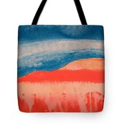 Ghost Ranch Original Painting Tote Bag
