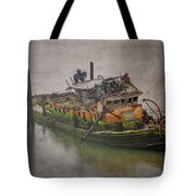 Ghost Steamer Tote Bag