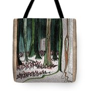 Ghost Stories Forest Graveyard By Jrr Tote Bag