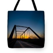 Ghost Town Bridge Tote Bag