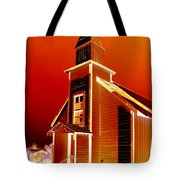 Ghost Town Church Tote Bag