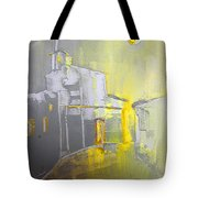 Ghost Town In Spain Tote Bag
