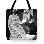 Ghost Town Little Angle Tote Bag