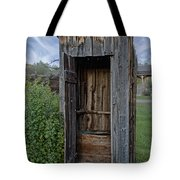 Ghost Town Outhouse - Montana Tote Bag