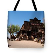 Ghost Town Saloon Tote Bag