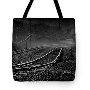 Ghost Tracks Tote Bag