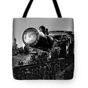 Ghost Train In Paranapiacaba - Locobreque Tote Bag