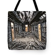 Ghost Train Revisited Tote Bag