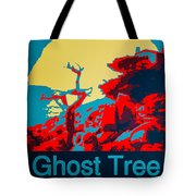 Ghost Tree Poster Tote Bag