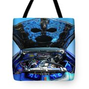 Ghost Under The Hood Tote Bag