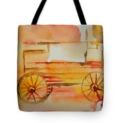 Ghost Wagon Tote Bag