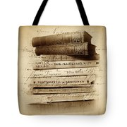 Ghost Writer Tote Bag