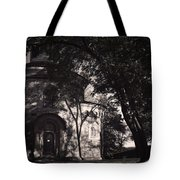 Ghostly Fortress Tote Bag