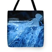 Ghostly Ice Tote Bag