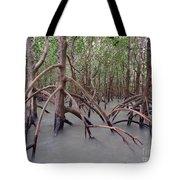 Ghostly Mangroves Tote Bag