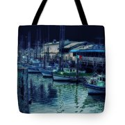 Ghostly Marina Tote Bag