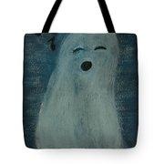 Ghostly Serenade Tote Bag
